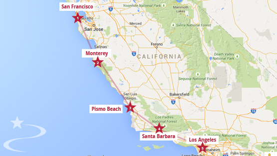 Pacific Coast Highway 1 11 Days Itinerary From San